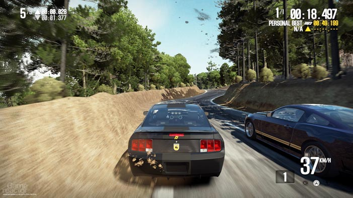 Need for Speed Shift 2 GamePlay screenshot
