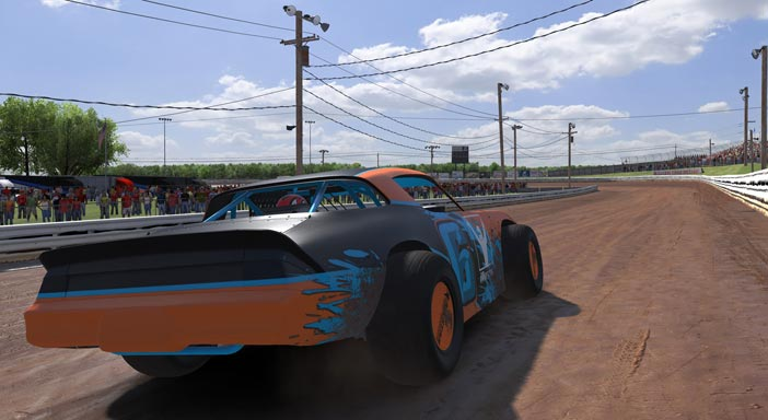 iRacing gameplay screenshot